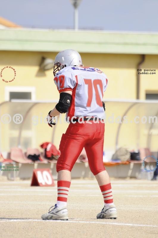 Crusaders Cagliari vs Daemons Martesana, 6-48, 16 ottobre 2011 5