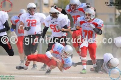 Crusaders Cagliari vs Daemons Martesana, 6-48, 16 ottobre 2011 60
