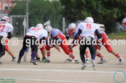 Crusaders Cagliari vs Daemons Martesana, 6-48, 16 ottobre 2011 68