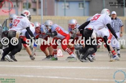 Crusaders Cagliari vs Daemons Martesana, 6-48, 16 ottobre 2011 70