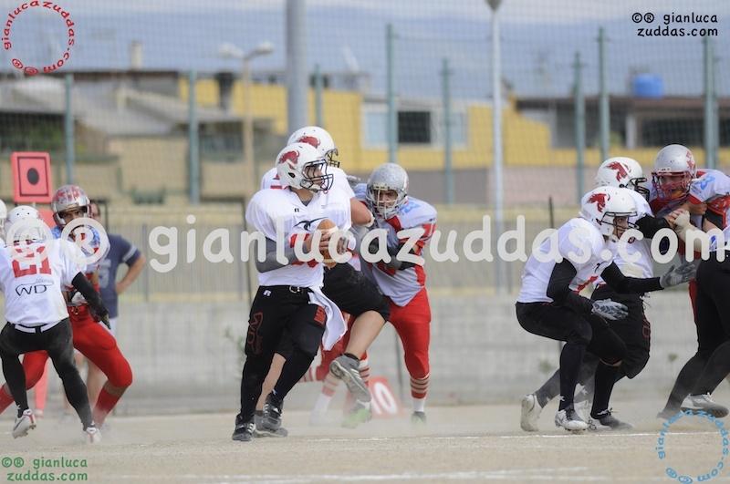 Crusaders Cagliari vs Daemons Martesana, 6-48, 16 ottobre 2011 73