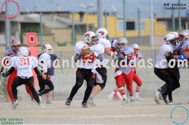 Crusaders Cagliari vs Daemons Martesana, 6-48, 16 ottobre 2011 74