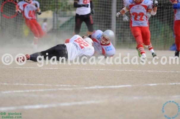 Crusaders Cagliari vs Daemons Martesana, 6-48, 16 ottobre 2011 85