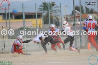 Crusaders Cagliari vs Daemons Martesana, 6-48, 16 ottobre 2011 93