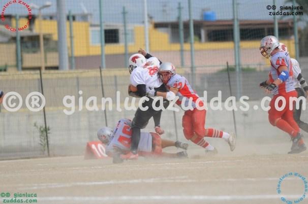 Crusaders Cagliari vs Daemons Martesana, 6-48, 16 ottobre 2011 97