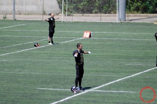 Crusaders Cagliari vs Dragons Salento, 48-0, 29 maggio 2011 10
