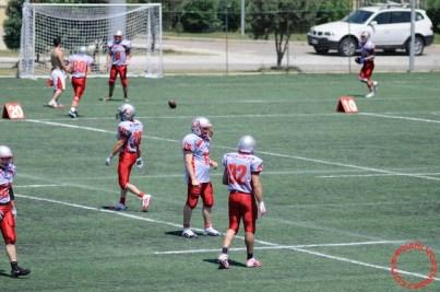 Crusaders Cagliari vs Dragons Salento, 48-0, 29 maggio 2011 15