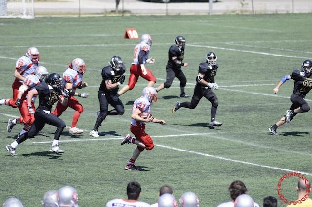 Crusaders Cagliari vs Dragons Salento, 48-0, 29 maggio 2011 160