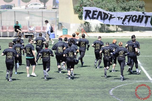 Crusaders Cagliari vs Dragons Salento, 48-0, 29 maggio 2011 23