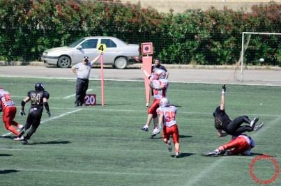 Crusaders Cagliari vs Dragons Salento, 48-0, 29 maggio 2011 254
