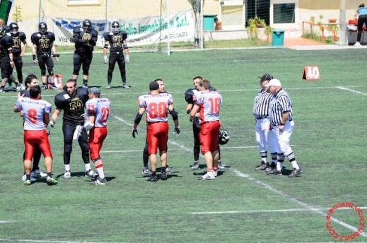 Crusaders Cagliari vs Dragons Salento, 48-0, 29 maggio 2011 56