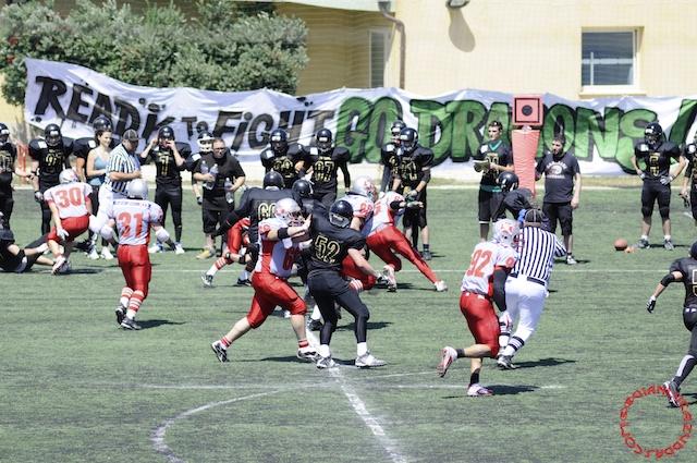 Crusaders Cagliari vs Dragons Salento, 48-0, 29 maggio 2011 75