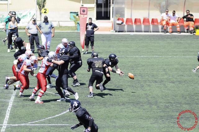 Crusaders Cagliari vs Dragons Salento, 48-0, 29 maggio 2011 83