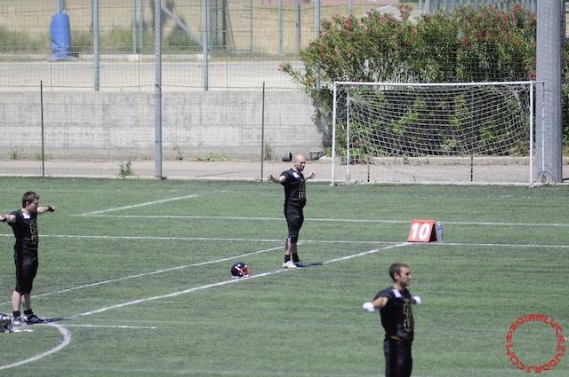 Crusaders Cagliari vs Dragons Salento, 48-0, 29 maggio 2011 9