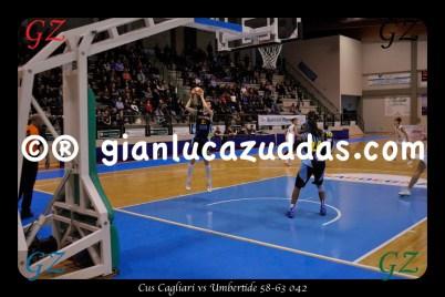 Cus Cagliari vs Umbertide 58-63 042