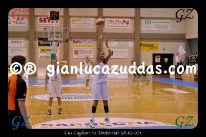Cus Cagliari vs Umbertide 58-63 071