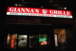 gianna's grille