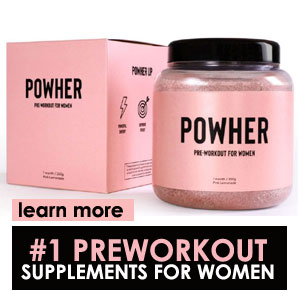 Powher pre workout supplements for women