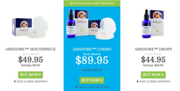 buy Airsnore device