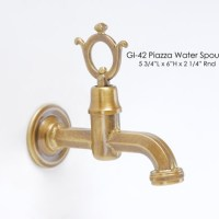 Piazza Water Spout