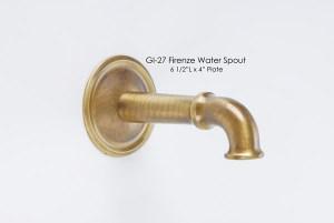 Firenze Water Spout