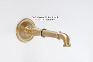 Moro Water Spout