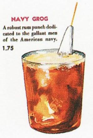ricetta navy grog cocktail