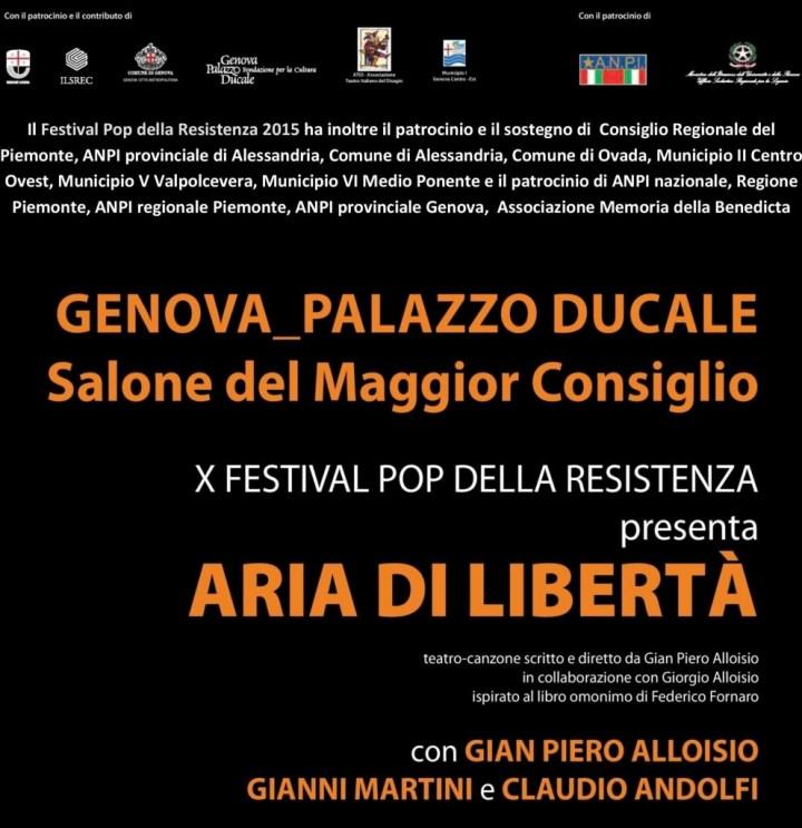 Aria di libertà - Genova - 2015