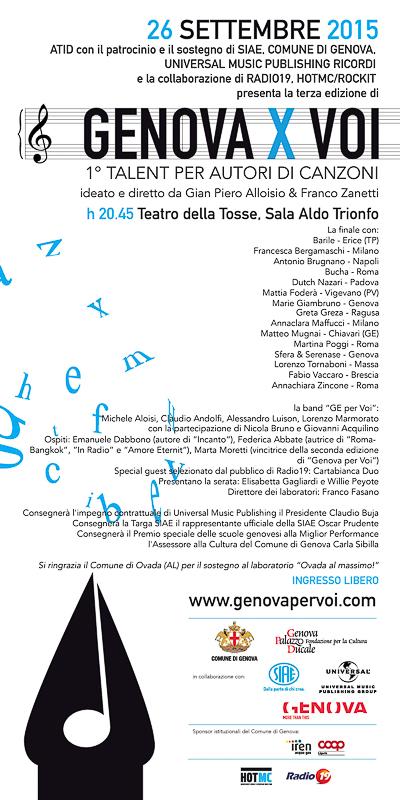 Genova per Voi 2015