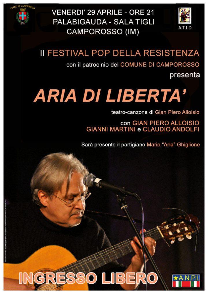 Aria di libertà - Locandina Camporosso