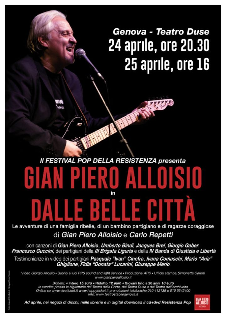 Gian Piero Alloisio - Dalle belle città - ph. Manuel Garibaldi