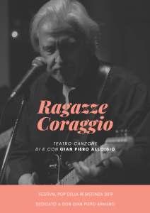 Gian Piero Alloisio in Ragazze Coraggio @ Teatro Comunale - Campoligure (GE) | Campo Ligure | Liguria | Italia
