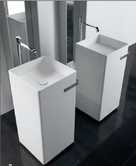 Antonio Lupi Kubic Freestanding Bathroom Sinks
