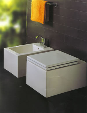 Simas Frozen Bathroom Toilets