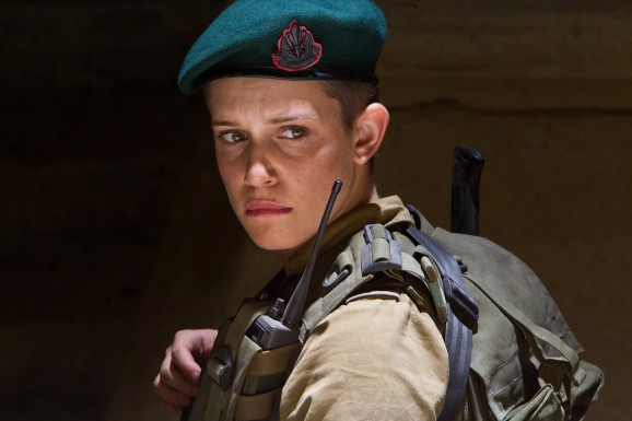 Said awesome female solider