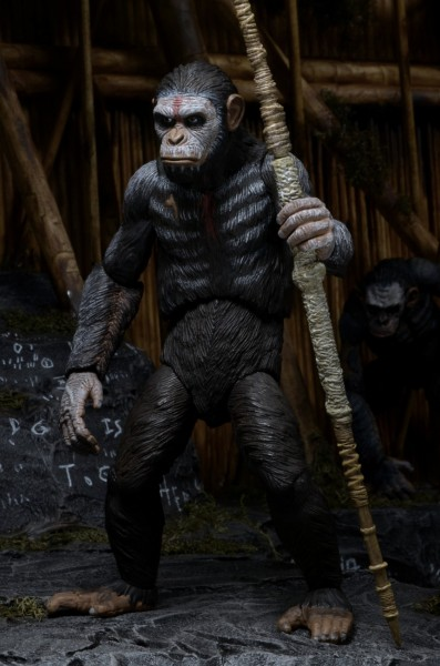 Dawn Of The Planet Of The Apes Toys Are Almost As Scary As