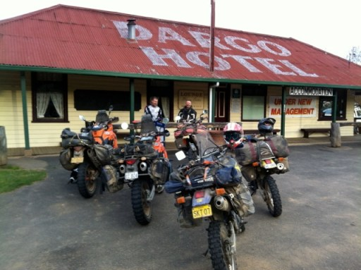 Giant Loop saddlebags in Australia