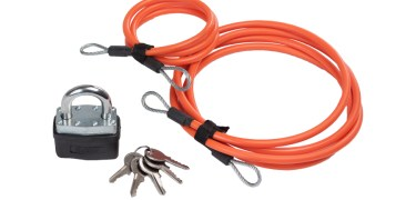 Giant Loop QuickLoop Cables and padlocks for motorcycle security