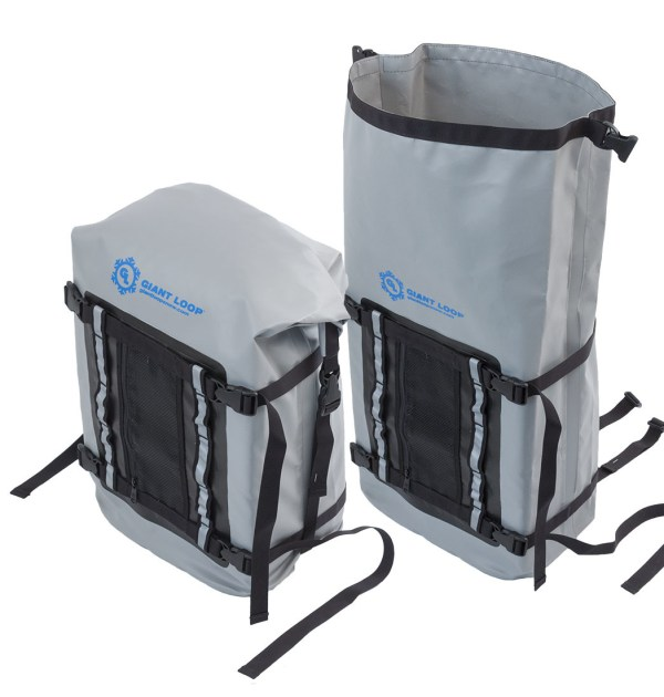 torngat tunnel bag for snowmobiles features waterproof roll top