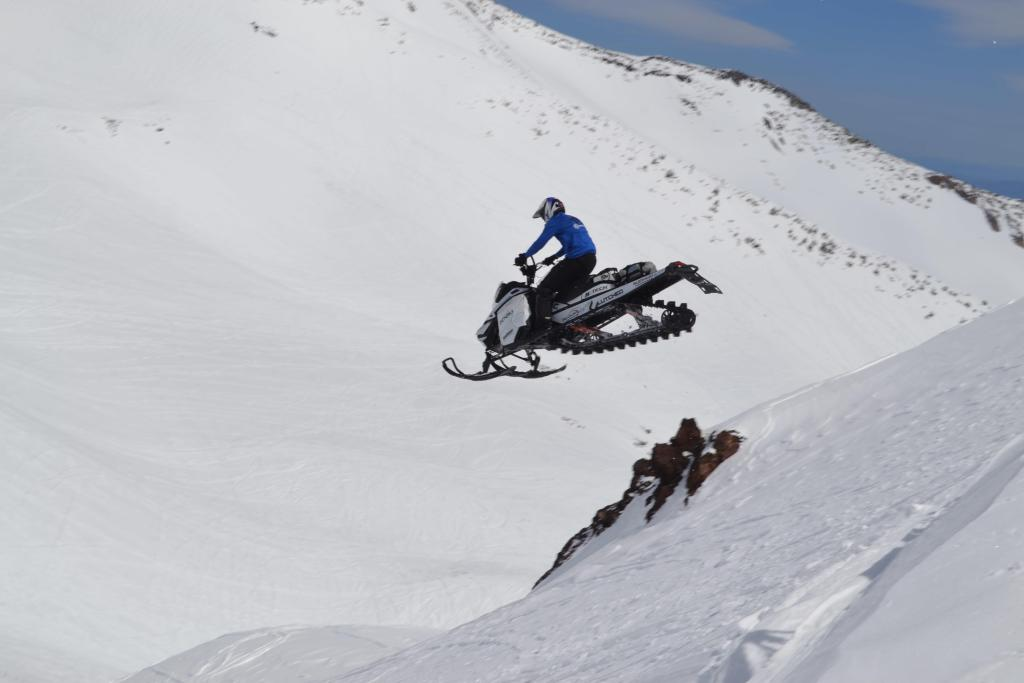 Cale Voos Clutched Films mountain sled big air w tunnel bag
