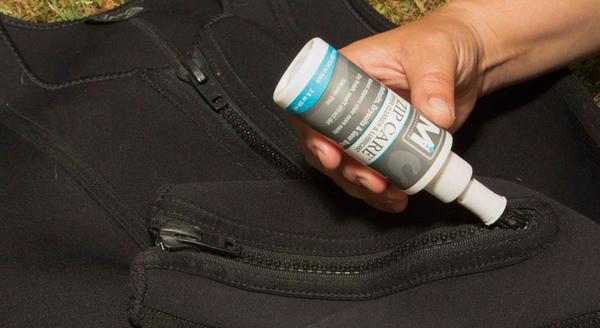 Zip Care Applying on zipper