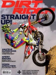 Dirt Rider Magazine (Gas Bag and Tilamook Bag)