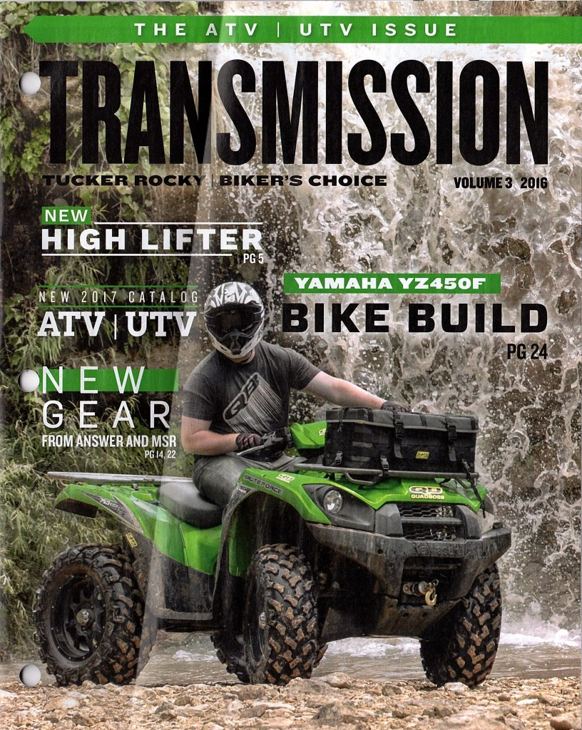 Tucker Rocky Transmission Magazine features Giant Loop