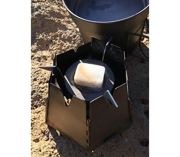 esbit solid fuel cubes vargo converter stove