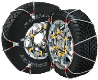 Cable Tire Chain for Passenger Cars, Pickups, and SUVs