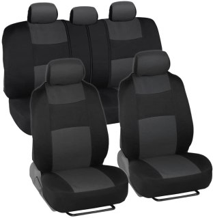 Charcoal Gray PolyPro Car Seat Covers