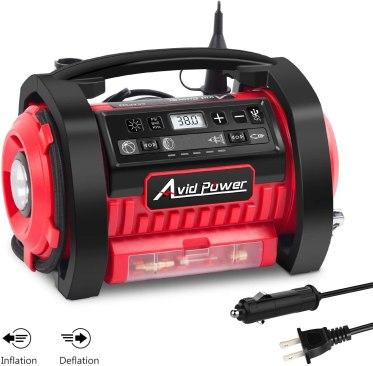 Tire Inflator Air Compressor