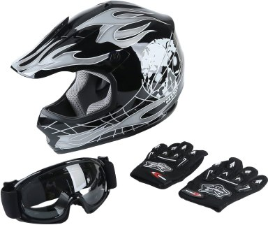 Youth Kids Motocross Offroad Street Dirt Bike Helmet