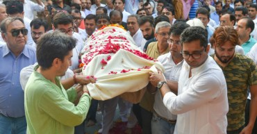 Eminent Licensed professional Ram Jethmalani Cremated at Lodhi Avenue Crematorium