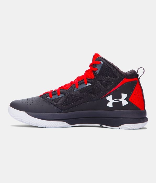 Under Armour Jet Mid red/ grey
